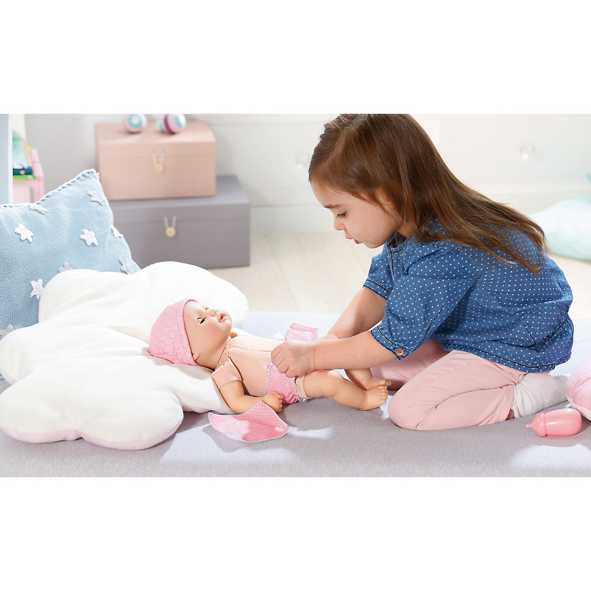 Baby Annabell Baby Fun Babypuppe, 36cm, Baby Annabell ...