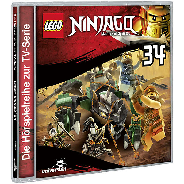 CD LEGO Ninjago - Masters of Spinjitzu 34