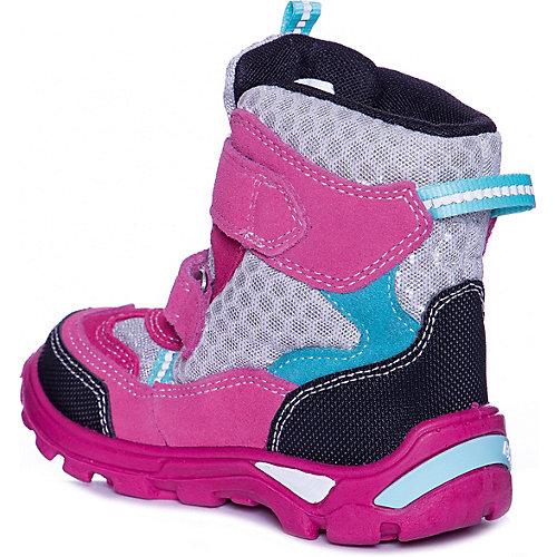 Утепленные ботинки Bartek - pink-kombi от Bartek