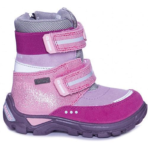 Утепленные ботинки Bartek - розовый от Bartek