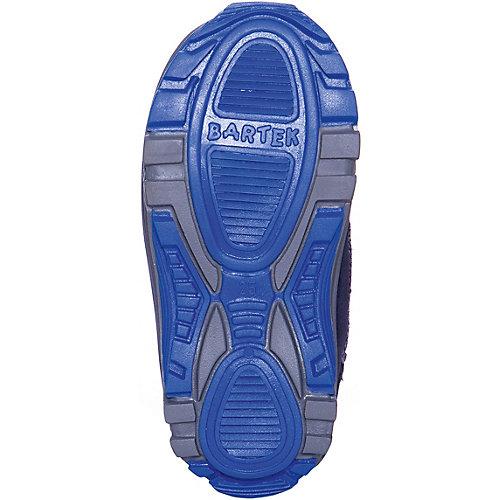 Утепленные ботинки Bartek - сине-серый от Bartek