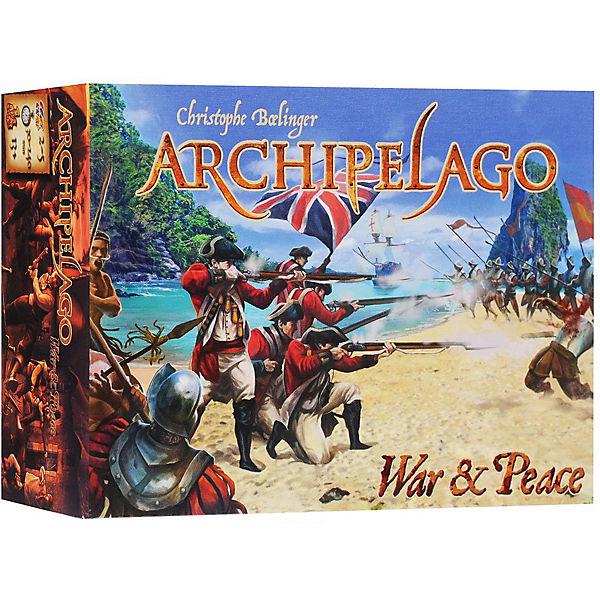"""Настольная игра Asmodee """"Архипелаг: дополнение """"Война и Мир"""""""