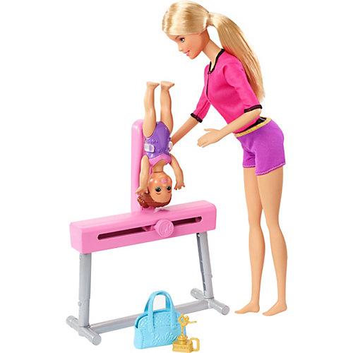 """Игровой набор Barbie """"Спортивная карьера"""" Гимнастика, блондинка от Mattel"""