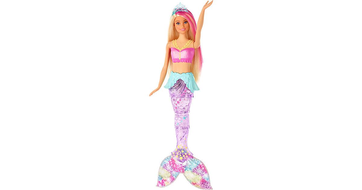 Barbie Dreamtopia Glitzerlicht Meerjungfrau Puppe (blond), Anziehpuppe   Kinderzimmer > Spielzeuge > Puppen   Mattel