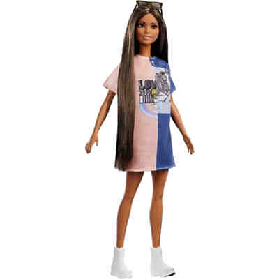Barbie Fashionistas Puppe Tone Graphic Dress