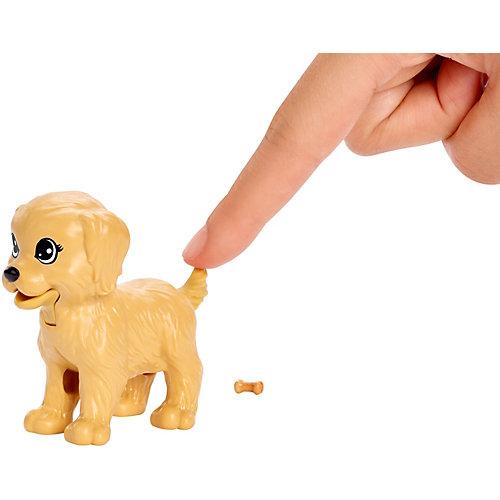 Игровой набор с куклой Barbie,  Барби и щенки от Mattel