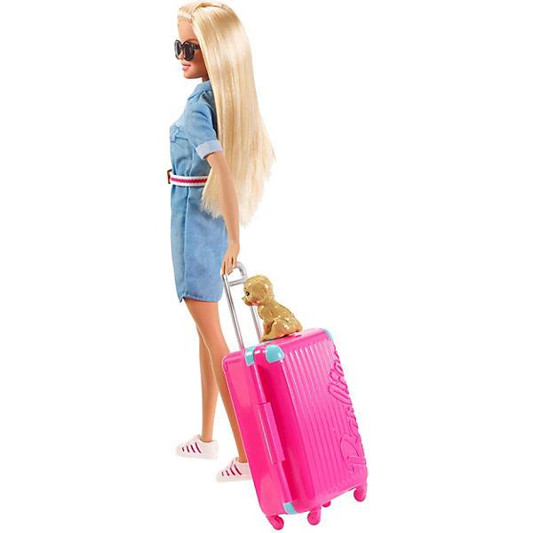 """Кукла Barbie """"Путешествия"""" Барби в джинсовом платье"""