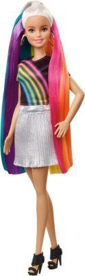 Regenbogen Barbie Barbie Regenbogen Glitzerhaar Puppeblond Puppeblond Glitzerhaar Barbie Regenbogen BsCxhQdrt
