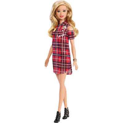 Barbie Fashionistas Puppe Patched Plaid