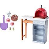 """Набор мебели для кукол Barbie """"Отдых на природе"""" Печь"""