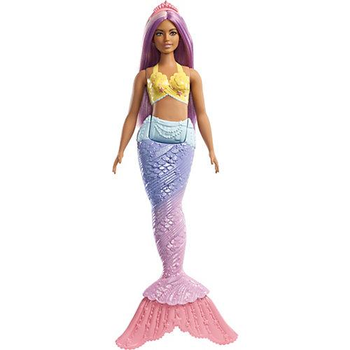 "Кукла Barbie Dreamtopia ""Волшебные русалочки"", с лиловыми волосами от Mattel"