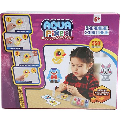 """Набор для творчества 1Toy """"Aqua pixels"""" Забавные животные, 350 пикселей от 1Toy"""