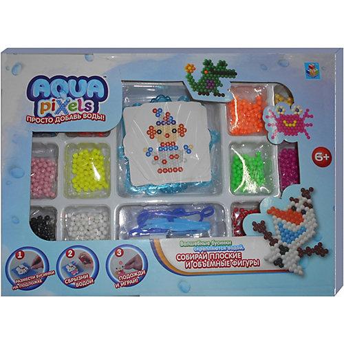 """Набор для творчества 1Toy """"Aqua pixels"""" Мега набор, 960 пикселей от Lukky"""