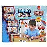 """Набор для творчества 1Toy """"Aqua pixels"""" Пожарная станция, 480 пикселей"""