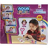 """Набор для творчества 1Toy """"Aqua pixels"""" Сказка о принцессе, 480 пикселей"""