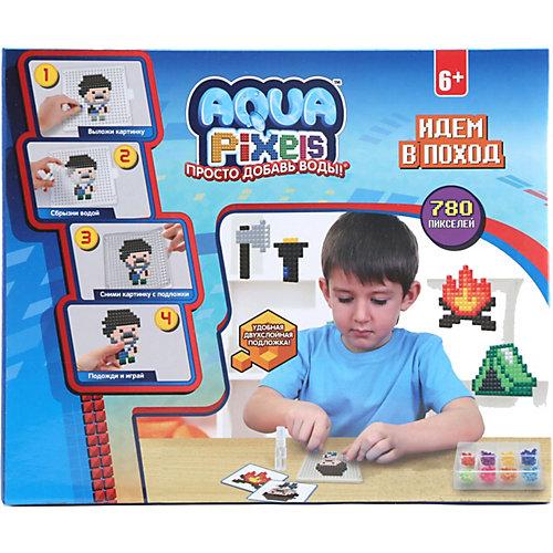 """Набор для творчества 1Toy """"Aqua pixels"""" Идём в поход, 780 пикселей от 1Toy"""