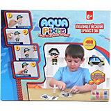 """Набор для творчества 1Toy """"Aqua pixels"""" Полицейский участок, 480 пикселей"""