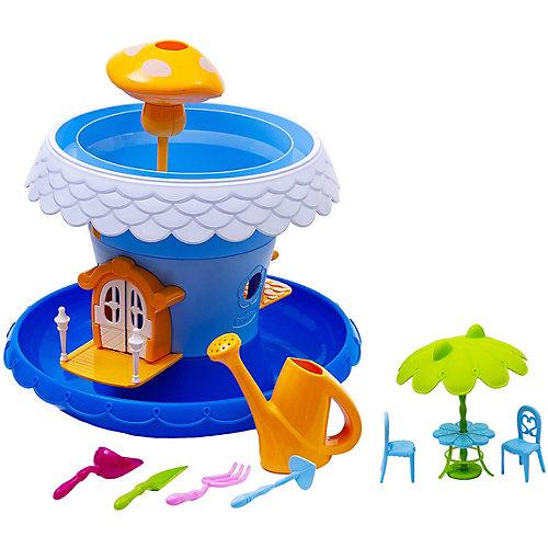 """Игровой набор Junfa Toys """"Коттедж для кукол"""", синий от Junfa Toys"""