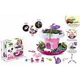 """Игровой набор Junfa Toys """"Коттедж для кукол"""", розовый"""