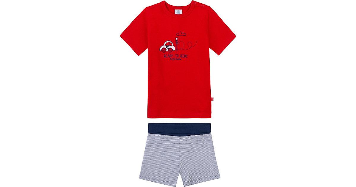 Sanetta · Baby Schlafanzug , organic cotton Gr. 74 Jungen Baby