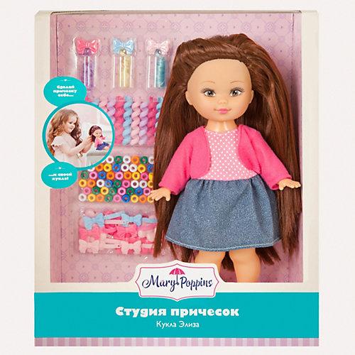 """Набор с куклой Mary Poppins """"Студия причёсок"""" Элиза, 25 см от Mary Poppins"""