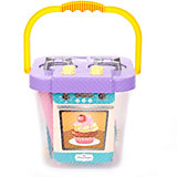 Игрушечная кухня Mary Poppins Плита-ведро с набором посуды, 27 предметов