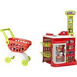 """Игровой набор HTI """"Smart"""" Супермаркет с тележкой"""