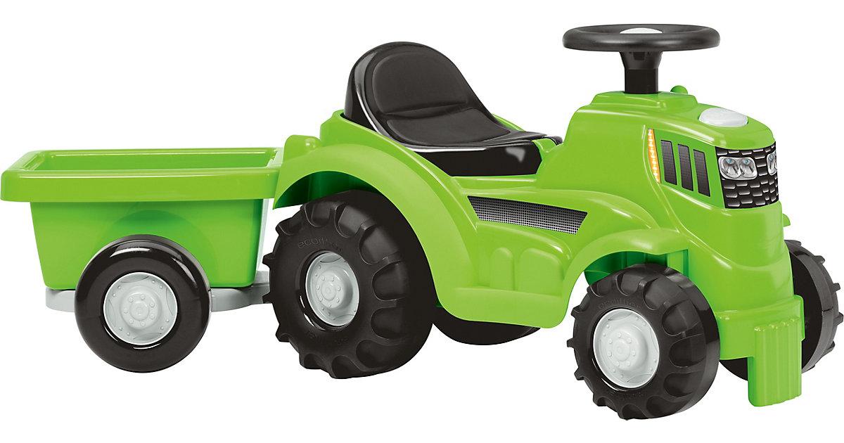 ECOIFFIER · Traktor mit Anhänger
