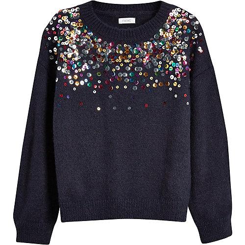 Next Pullover mit Pailletten Gr. 110 Mädchen Kleinkinder | 05057979038362