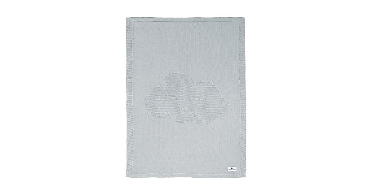 nordic coast company · Babydecke Wolke, grau, 70 x 100 cm