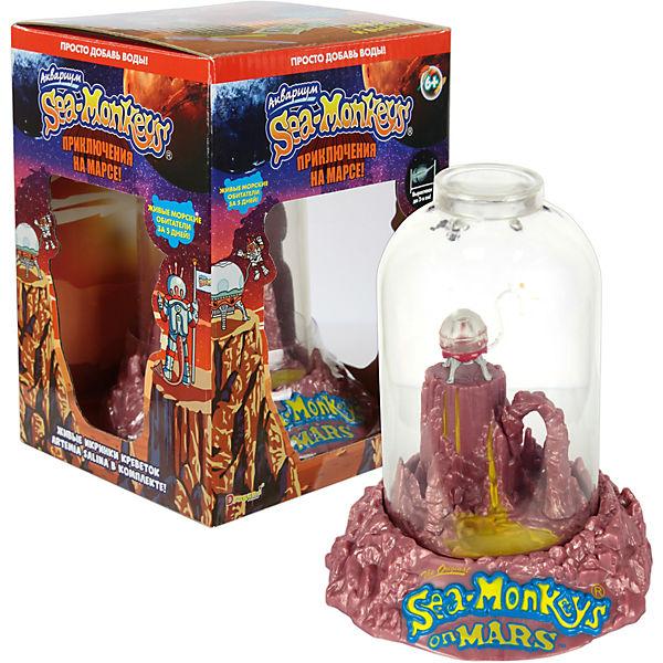"""Аквариум """"Sea-Monkeys"""" Приключения на Марсе, для выращивания ракообразных вида Artemia Salina"""