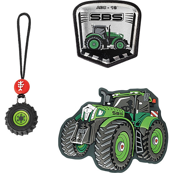 MAGIC MAGS Green Tractor, 3-tlg.
