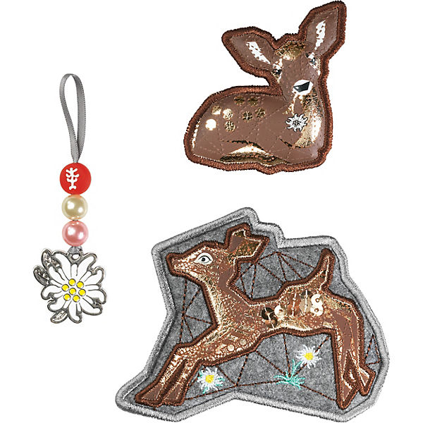 Step by Step 139251 MAGIC MAGS Modern Deer, 3-tlg.