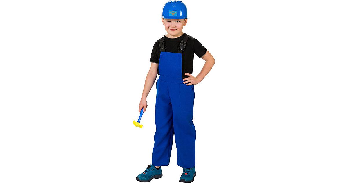 Latzhose, blau Gr. 128 Jungen Kinder