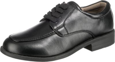 Schuhe ConWay Jungen Kommunion Halbschuhe schwarz Farbe