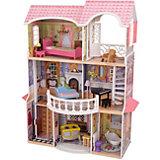 """Винтажный кукольный дом для Барби KidKraft """"Магнолия"""", в подарочной упаковке"""