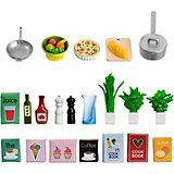 Аксессуары для домика Lundby Набор кухонных аксессуаров, 21 предмет