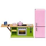 """Мебель для домика Lundby """"Смоланд"""" Кухонный набор с холодильником"""