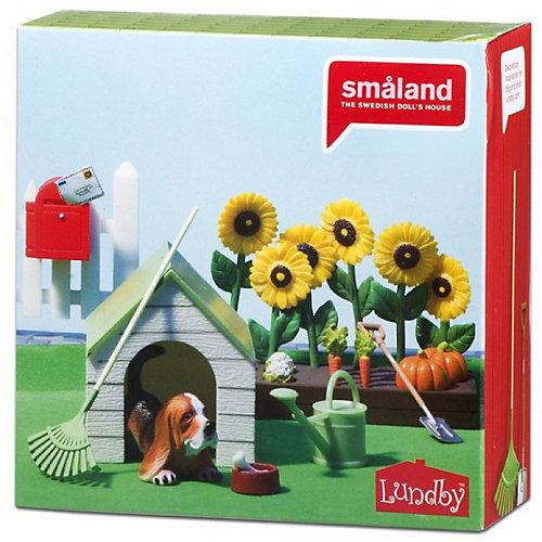 """Аксессуары для домика Lundby """"Смоланд"""" Садовый набор с питомцем, 1:18 от Lundby"""