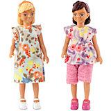 Куклы для домика Lundby Две девочки