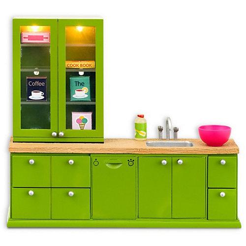 """Мебель для домика Lundby """"Смоланд"""" Кухонный набор с буфетом от Lundby"""