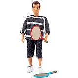 Кукла для домика Lundby Папа с ракетками