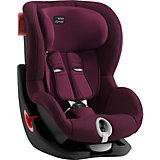 Автокресло Britax Romer King II Black Series 9-18 кг Burgundy Red