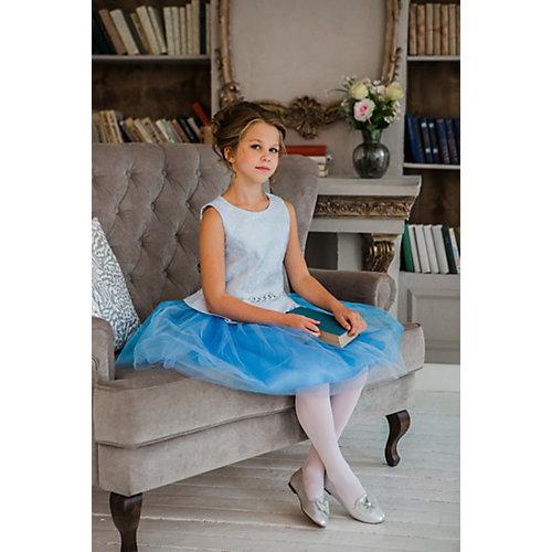 Комплект Unona: топ и юбка - голубой от Unona