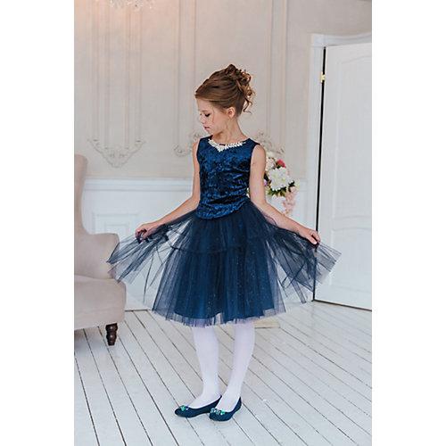 Комплект Unona: топ и юбка - темно-синий от Unona
