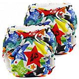 """Многоразовые подгузники для новорожденных Kanga Care """"Lil Joey"""" 2 шт., dragons fly"""