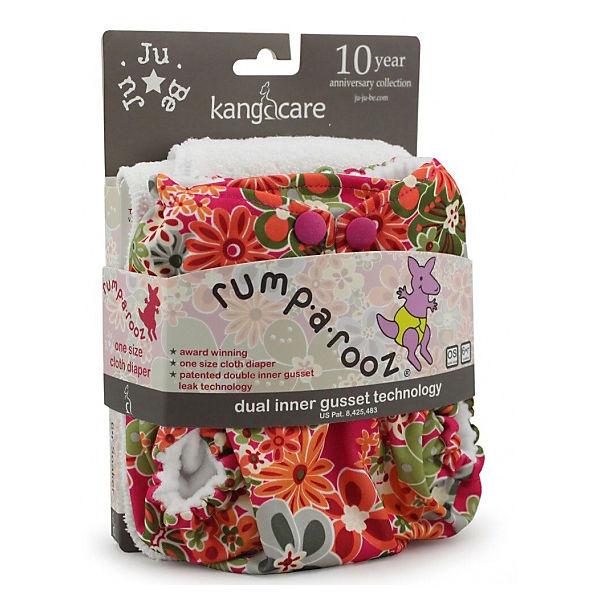 "Многоразовый подгузник Kanga Care ""Rumparooz Onesize"" Perky Perennials"