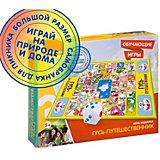 """Настольная игра-ходилка Bondibon """"Гусь-путешественник"""""""