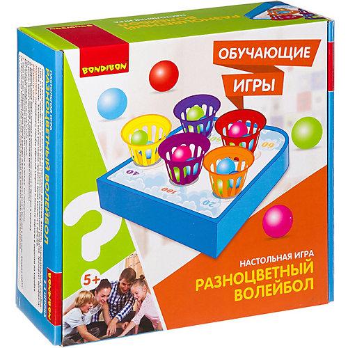 """Настольная игра Bondibon """"Разноцветный волейбол"""" от Bondibon"""