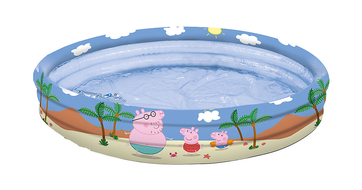 Peppa Pig 3-Ring-Pool, 100 cm bunt